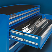 Press brake tool storage by Professional Tool Storage