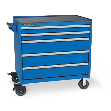Press Brake Tool Storage 5 DRW Cabinet  (American Tools)  | Versatility by Professional Tool Storage