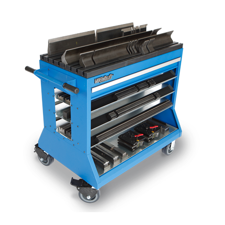 Press Brake Change-Over Cart for Mate / Trumpf / Wila NS  and  Wilson WT*  | Versatility by Professional Tool Storage