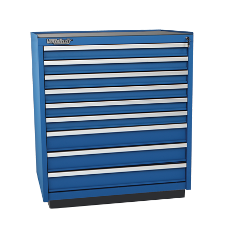 9-Drawer Heavy Duty Steel Cabinet